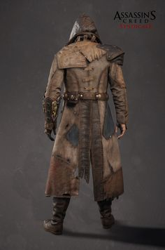 ArtStation - Assassin's Creed Syndicate - Jacob's Frankeinstein DLC outfit, Mathieu Goulet