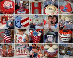 little pumpkin grace: red, white and TWO! {Hudson's 2nd Birthday}