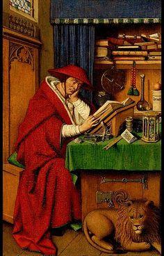 Jan van Eyck.   -    S Gerolamo