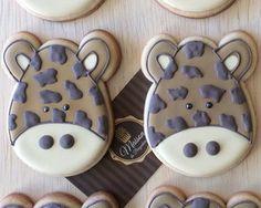 Biscoitos Decorados - Girafa