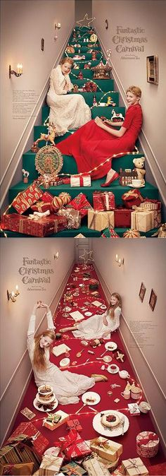 advertising set | Fantastic Christmas Carnival by Yuni Yoshida