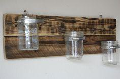 Mason Jar Storage Hanging