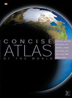 Concise Atlas of The World #buku #bukuimport #sewabuku #perpustakaan