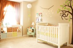 What do you think of this bright nursery? We love it! http://projectnursery.com/projects/owens-room-2/ via @projectnursery