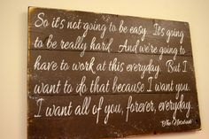 The Notebook Quote Pallet Sign So It's Not by RusticlyInspired, $60.00 @minmindymom