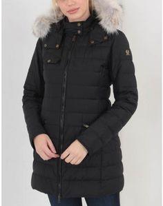 Belstaff Melcombe Down Coat With Fur Black Summer Is Coming, Belstaff, Down Coat, Barbour, Coats For Women, Canada Goose Jackets, Looks Great, Winter Jackets, Fur