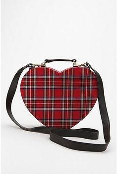 UrbanOutfitters.com > Ecote Hard Heart Plaid Bag - StyleSays