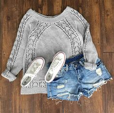 Have this hollow piece with $25.99 Only&easy return! This printed crochet sweater will reveal a chic look for you with its drop shoulder design! Make it yours at Cupshe.com
