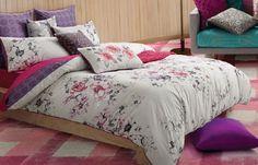 Quilt cover set doona duvet king size new dafny multi  kas 2 x pillowcases