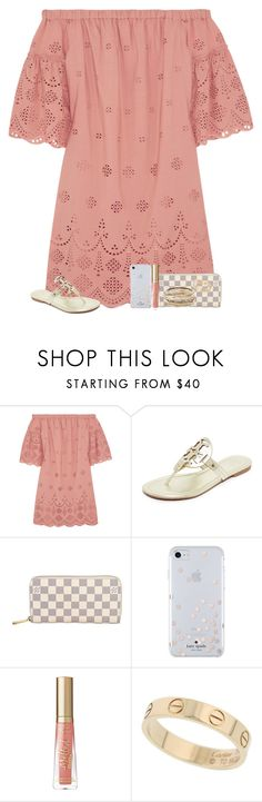 """6/16/17"" by lydiarosenyc ❤ liked on Polyvore featuring Madewell, Tory Burch, Louis Vuitton, Kate Spade, Cartier and Kendra Scott"