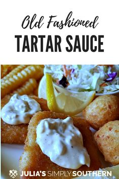 Homemade tartar sauce recipe with capers and dill is the classic condiment for seafood. This tangy sauce is better homemade. Delicious for fish Friday or use it as a sandwich spread Recipe For Tartar Sauce, Sauce Recipes, Fish Recipes, Seafood Recipes, Cooking Recipes, Aloo Recipes, Egg Recipes, Quick Recipes, Copycat Recipes