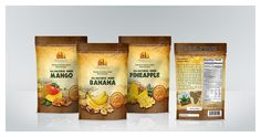 Label/packaging design for sun dried fruits www.damirpolutranko.com