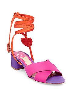 9f7321932 B Brian Atwood - Astor Nubuck Leather Sandals