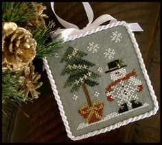 He's a Flake by Little House Needleworks