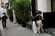 On the Street…..Rue de Navarin, Paris The Sartorialist