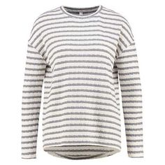 ROSANNA Sweater stone grey via Polyvore featuring tops, sweaters, grey top, gray sweater, gray top, grey sweater and stone top