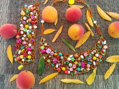 Woven beaded neckpiece and cuff. www.dvmjewllery.com Stills For Sale, Sell Items, Sprinkles, Candy, Candy Bars, Sweets