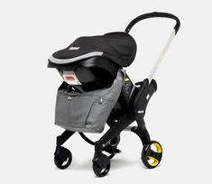 Doona made a carseat that transforms into a stroller!  Where was this when my son was a baby?