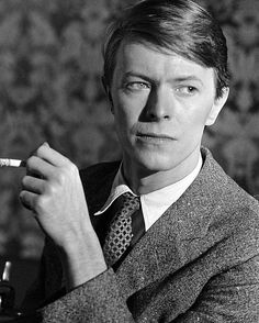 David Bowie, talented actor and musician.
