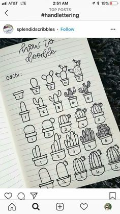 This is a massive list of bullet journal doodle tutorials to give you ideas and inspiration for your bujo doodles and - Salvabrani Bullet Journal Inspo, Bullet Journal 2019, Bullet Journal Ideas Pages, Bullet Journal Christmas, Bullet Journals, Doodle Drawings, Doodle Art, Easy Drawings, Christmas Doodles