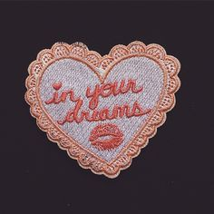 In Your Dreams Patch - $7.00 http://sickgirlsofficial.com/products/13777410-in-your-dreams-patch