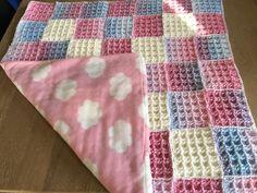 baby deken gevoerd met fleece