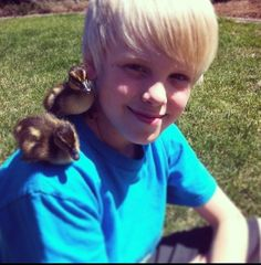 Carson lueders. This is so cute