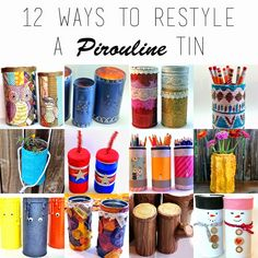 punk projects: 12 Ways to Restyle a Pirouline Tin