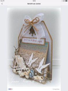 Fun Fold Cards, Folded Cards, Nautical Cards, Wedding Cards Handmade, Beach Cards, Step Cards, Shaped Cards, Easel Cards, Marianne Design