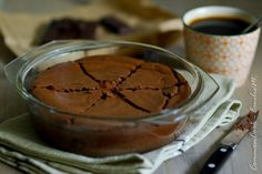 Fondant coulant au chocolat et tofu soyeux