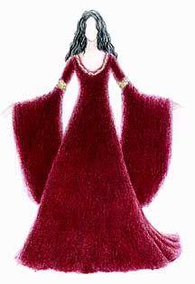 Cranberry Dress Arwen