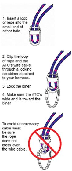 Rock Climbing Belay tips
