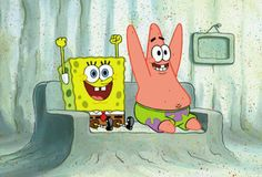 9 of the Best Best Friend Duos Ever Created: Spongebob and Patrick