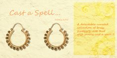 #Zoyashi #Brass #Earrings #GetTheLook #LoveForEthnic #Ethnic #Indian #GetThisLookWithZoyashi