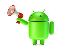 Free stock photo: Green Android robot with megaphone. Contains clipping path Free Photos, Free Stock Photos, Watering Can, Yoshi, Robot, Android, Tech, 3d, Google