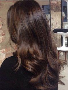 Dark brown colour