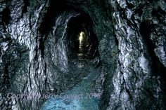 Old Gold Mine Light At The End Of The tunnel fine art photographyby PhotosbyJerryCowart   https://www.etsy.com/listing/220445941/old-gold-mine-light-at-the-end-of-the