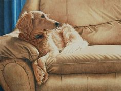On the Sofa by Faith Wheeler