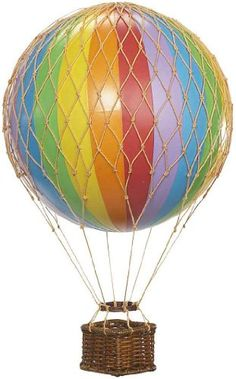 Authentic Models Floating the Skies Hot Air Balloon Replica, Color: Rainbow Authentic Models http://www.amazon.com/dp/B00424SA0W/ref=cm_sw_r_pi_dp_x03Aub1HCE8ZM