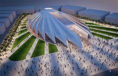 2020 Expo Dubai Pavilions