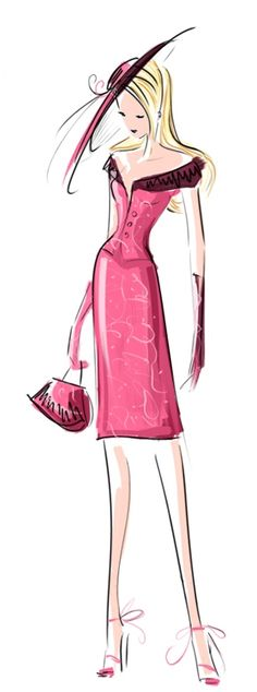Stylised Fashion Girl / Ragazza alla moda stilizzata - by StillesWasser on deviantART