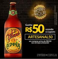 Empório da Cerveja - Cupom de R$ 50 para Compras Acima de R$ 150 em Cervejas Artesanais