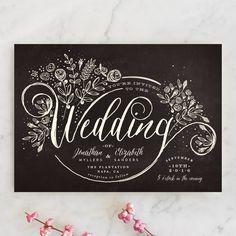 The Wedding Bouquet Wedding Invitations by Phrosne Ras | Minted