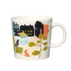 Hometown mug 0,3 L, Park (20,90€) Arabia, design: Kaj Franck, Miira Zukale