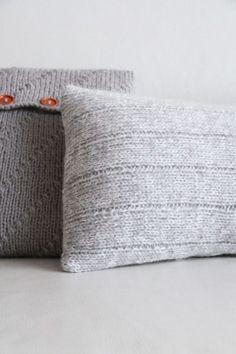 Návod jak uplést a ušít povlak na polštář Throw Pillows, Toss Pillows, Cushions, Decorative Pillows, Decor Pillows, Scatter Cushions