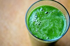 Here is a detox smoothie that will get your system back in shape.  The pear and the apple add sweetness and helps balance the grassy notes of the kale.  Enjoy!    Green Detox smoothie    Ingredients:        1 cup kale       1 pear peeled and cored      1 apple peeled and cored      1 slice of lemon      1/4 inch piece or ginger      1 cup ice cubes    Method:    Combine all the ingredients in a blender and process until smooth.  Thin with a little water if needed. #weightlossmotivation