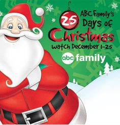 ABC Family Christmas Movies - 25 Days Of Christmas Schedule for 2015!