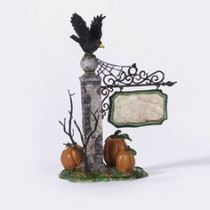 Spooky Village Sign - 56.53144