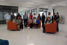 Personal del CICBI en ceremonia de reinauguración del CICBI (13/02/14).