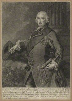 William Anne Keppel (1702-1754), 2nd Earl of Albemarle and Governor of Virginia.  http://www.c-ville.com/A_county_by_any_other_name/#.UYAe5qKKJ2A